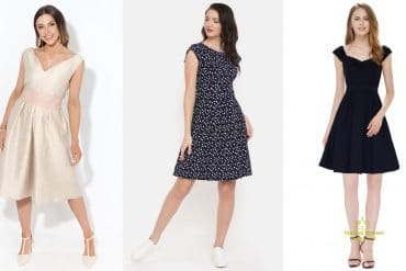 A-line,a-line dresses, A Quick Guide about A-line dresses: The Holy Grail of every body shape, Outdressing