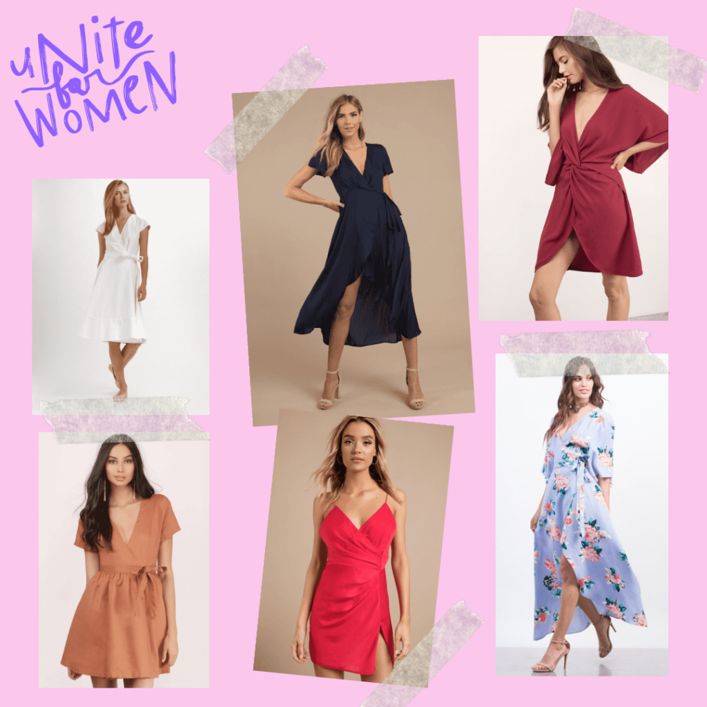 wrap dress, A Quick Guide on Wrap Dress: The Symbol of Women Liberation, Outdressing