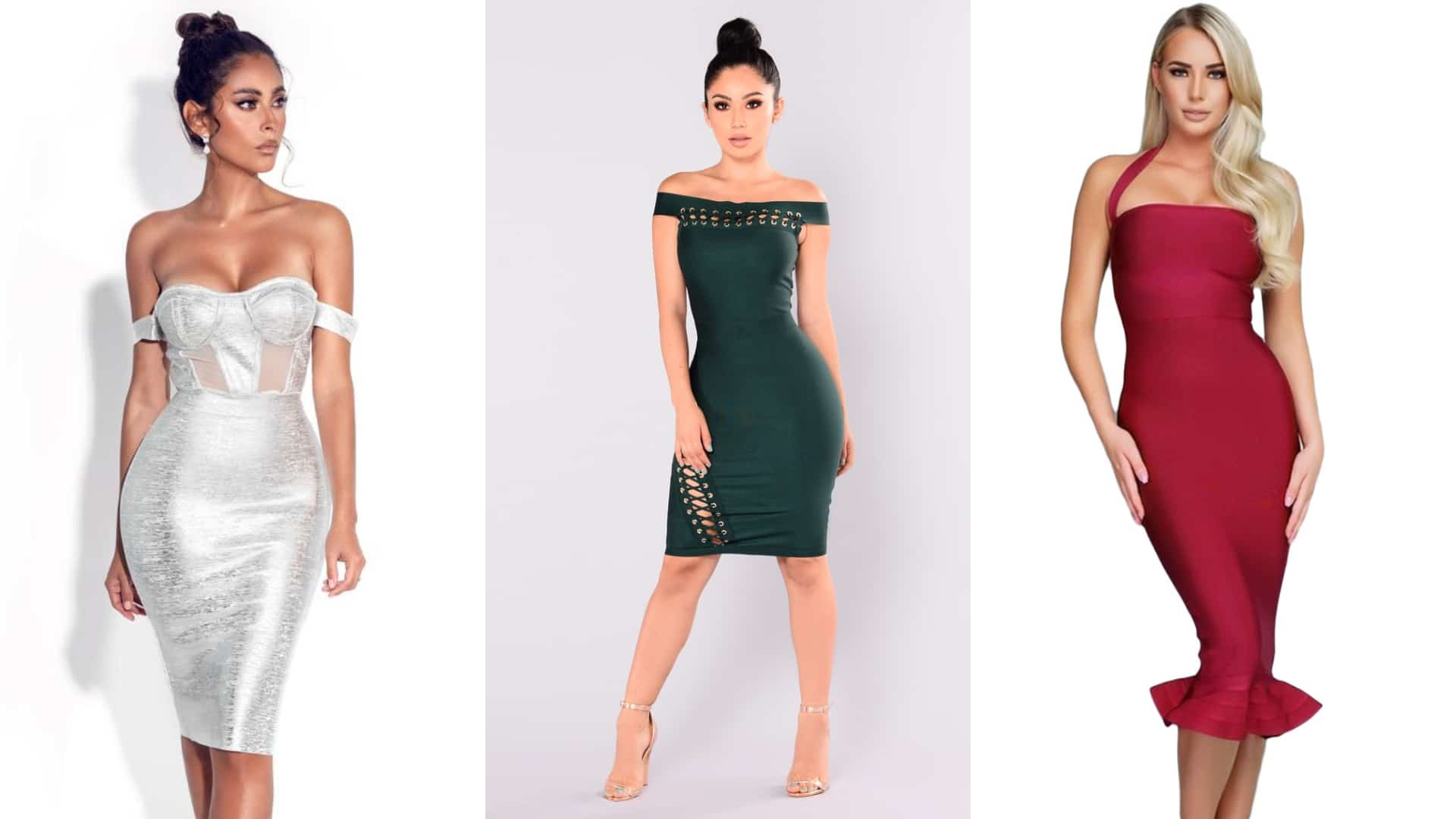 bandage dress, A Quick Guide on Bandage dresses: Oozing with Sexiness, Outdressing