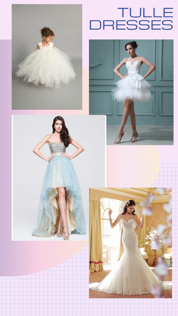 tulle dress, A Quick Guide on Tulle Dresses: Tutu…lle!, Outdressing