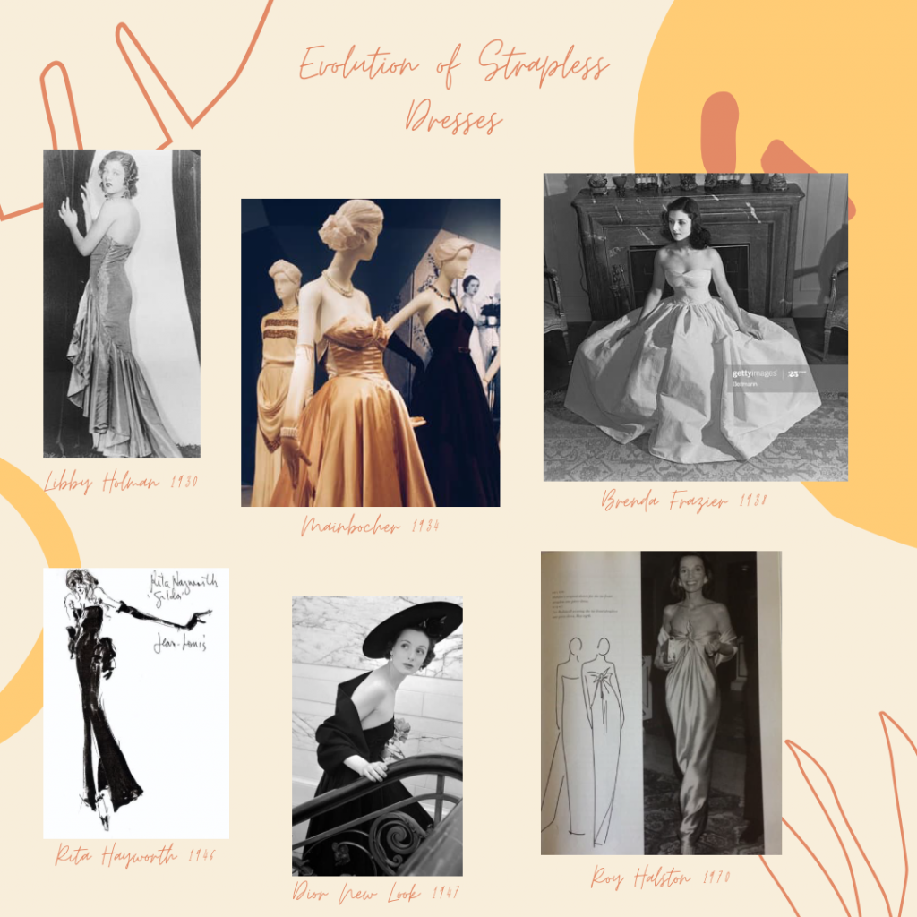 Strapless Dress, A Quick Guide on Strapless Dresses: Collarbone Exposed!, Outdressing