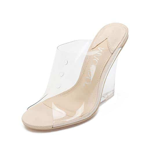 clear heels, Why You Should Own a Pair of Clear Heels, Outdressing