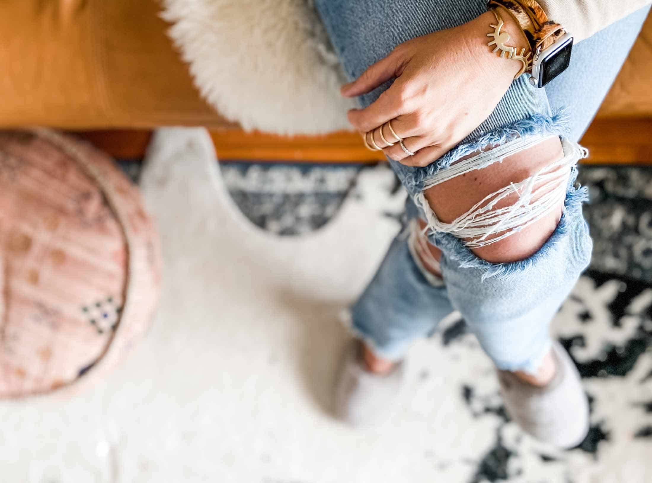 ripped jeans, A Quick Guide to Ripped Jeans and how to wear them, Outdressing
